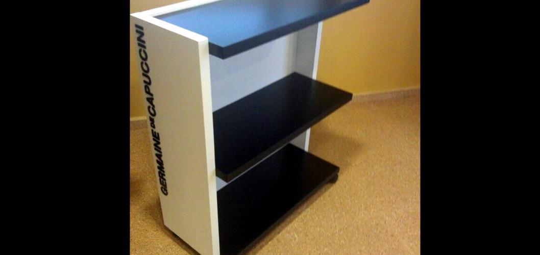 Mobiliario para Germaine de Capuccini: Carro