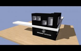 Mobiliario para Germaine de Capuccini: Mostrador