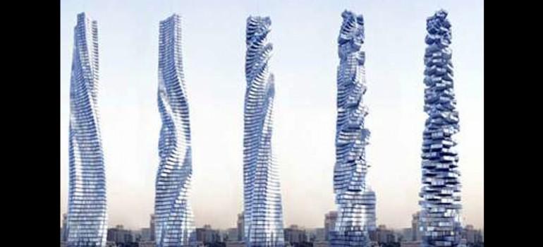 Rascacielos vivo en Dubai