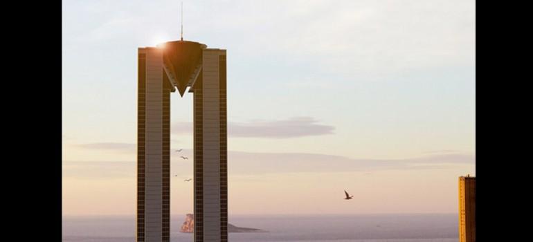 In tempo: 200 metros de altura para el 'skyline' de Benidorm