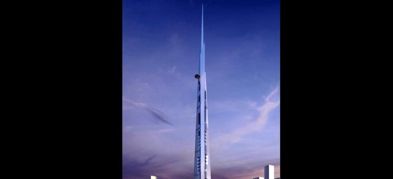 Un edificio de un kilómetro busca batir el récord mundial