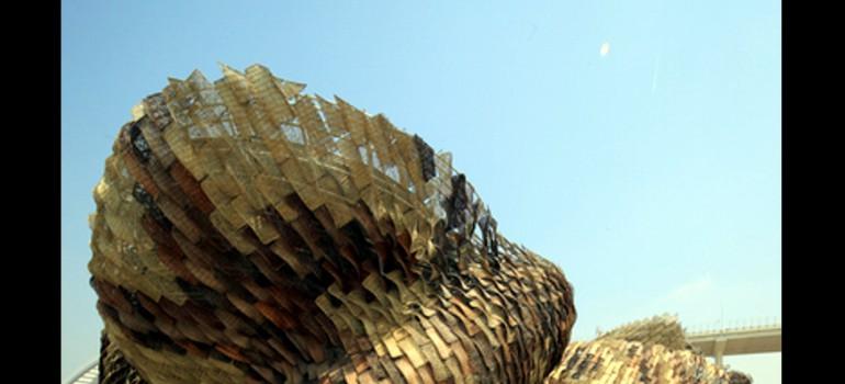 El pabellón español logra el premio de bronce de diseño arquitectónico en la Expo de Shanghái