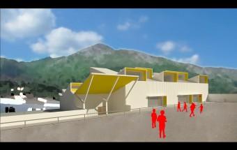 Pabellón polideportivo del colegio Sant Antoni de Pego