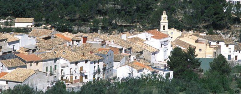 El pueblo más pequeño de la provincia de Alicante, Famorca, pionero en España en sostenibilidad con su nuevo ayuntamiento.